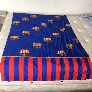 Barcelona FC Soccer Flag 6 Feet